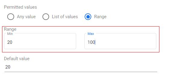 google data studio parameters parameter value option 2