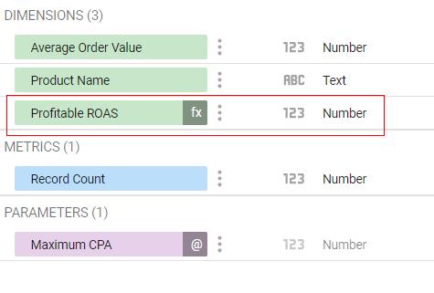 google data studio parameters schema
