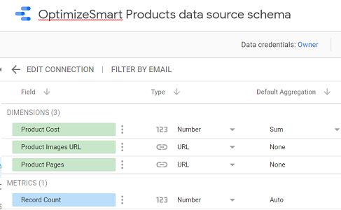 new data source schema