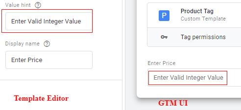 value Hint