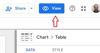 view button data studio