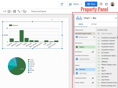 Property panel data studio