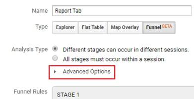 advanced options custom funnels analytics 360