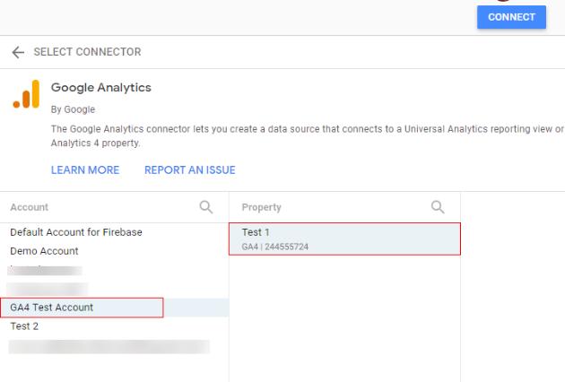 cionnect ga4 data studio data studio 5