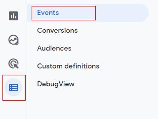 configure events