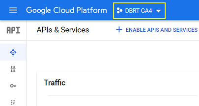 connect google analytics 4 with bigquery Make sure your BigQuery project for GA4 is selected 1