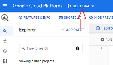 connect google analytics 4 with bigquery Navigate back to your BigQuery account 1