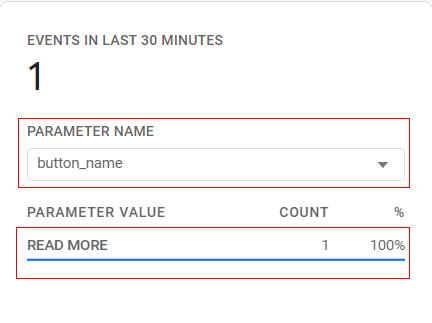 event tracking in Google Analytics 4