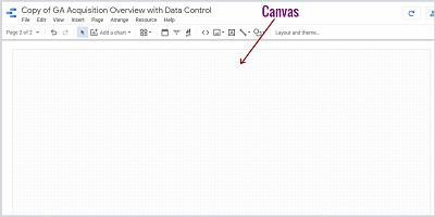 google data studio canvas