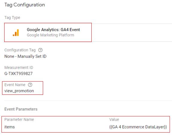 Google Analytics 4 Ecommerce Tracking
