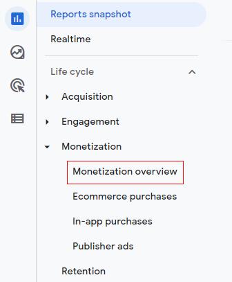 monetization overview