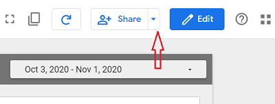 share button google data studio 1