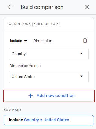 Add new condition
