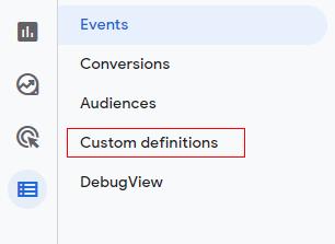Custom definations
