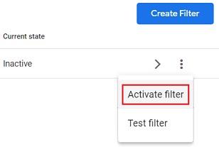 activate filter ga4 1