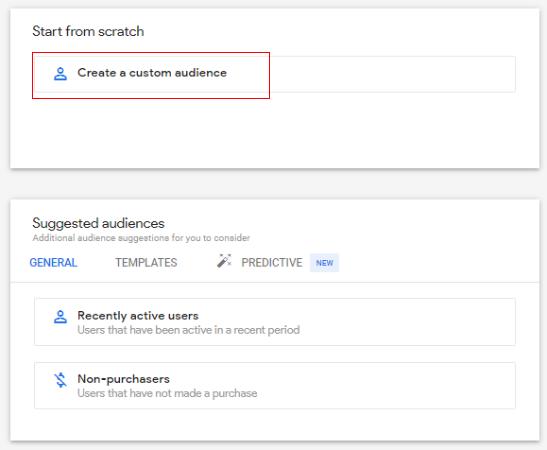 custom audiences create custom audience2