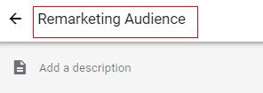 custom audiences description