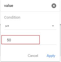custom audiences numeric value