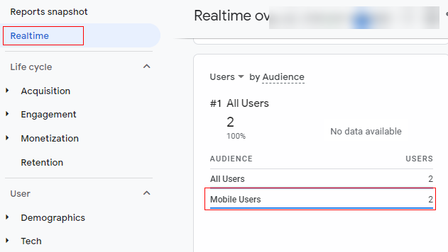 realtime audience