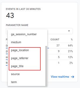 Event Parameters in Google Analytics 4