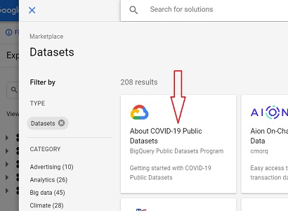 About Covid 19 Public Datasets