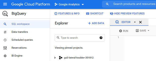 Advantages of using Google BigQuery for Google Analytics