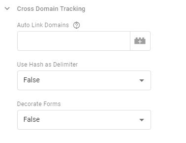 Auto link domains