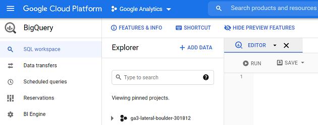 Google Analytics BigQuery Tutorial 1