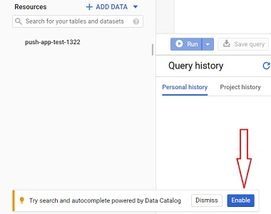 Try search and autocomplete powered by Data Catalog 1