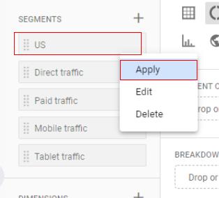 apply segment type 1