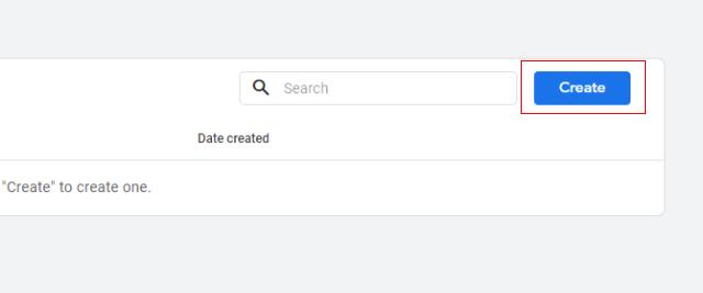 create API secret key