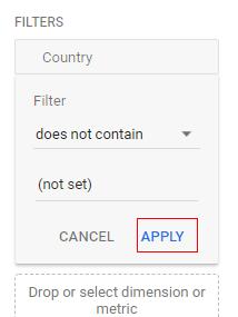 filter apply