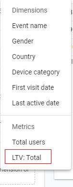 filter option