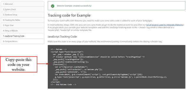 tracking code 1