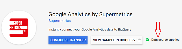 Data Source enrolled 1