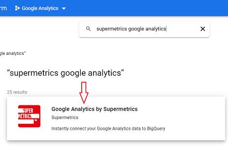 Google Analytics by Supermetrics