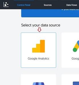 Google Analytics data source