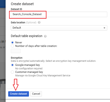 Search Console Dataset
