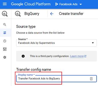 Transfer config name 2