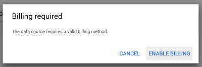 billing required bigquery