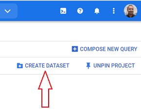 create dataset bigquery 1