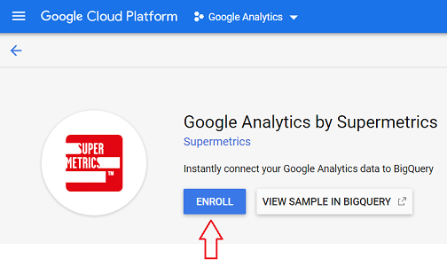 Google Analytics to BigQuery without 360