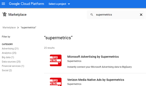 google cloud platform marketplace 1
