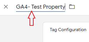 ga4 test property