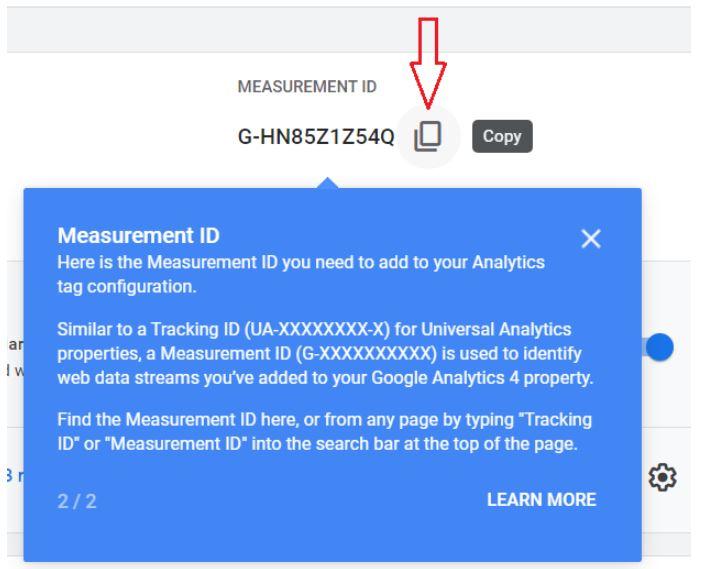 measurement id