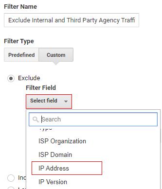 select field and ipaddress