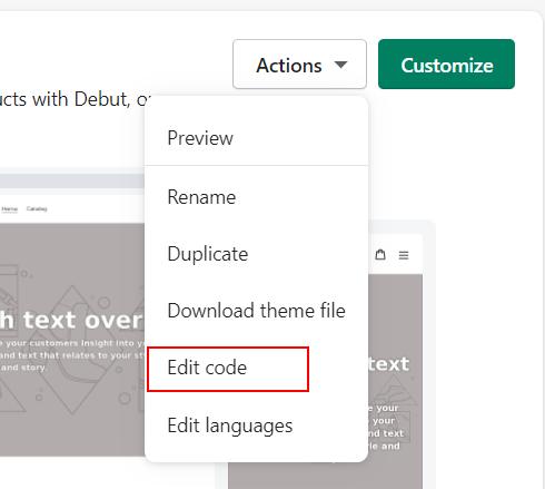 Edit code 1
