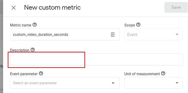 GA4 Custom Metrics