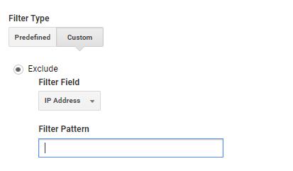 Filter pattern