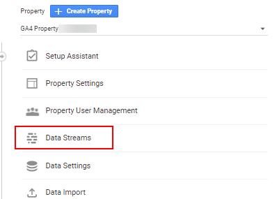 GA4 Data Streams